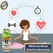 Las Vitaminas del grupo B conjuntamente con aminoácidos esenciales juegan un papel importante para la buena salud cardiovascular.  #YoSoyNfn #NaturalForcesNutriproducts #salud #vitalidad #ComplexB  #NFNPanama 🇵🇦 #NFNMiami 🇺🇸 #NFNVenezuela 🇻🇪 #NFNColombia 🇨🇴