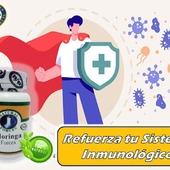 La Moringaestimulante del sistema inmunológico  #YoSoyNFN #NaturalForcesNutriproducts #MoringaForces #NFNColombia#NFNVenezuela#NFNMiami#NFNPanama
